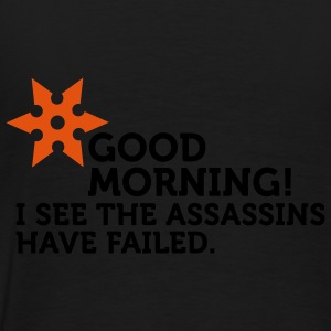 I See The Assassins Have Failed (2c) Sweaters - Mannen Premium T-shirt
