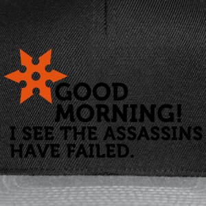 I See The Assassins Have Failed (2c) Sweaters - Snapback cap