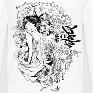 japanese girl T-Shirts - Men's Premium Longsleeve Shirt