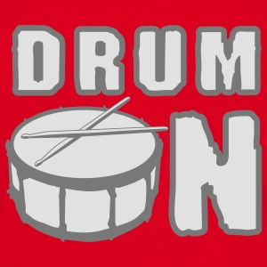 drum_on_a_2c Gensere - T-skjorte for menn