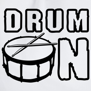 drum_on_a_1c Grembiuli - Sacca sportiva