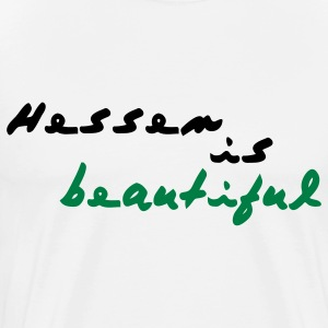 Hessen is beautiful Langarmshirts - Männer Premium T-Shirt