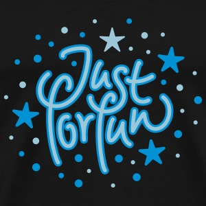 Just for Fun Tröjor - Premium-T-shirt herr