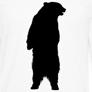 bear standing animal Barneskjorter - Premium langermet T-skjorte for menn