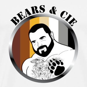 bear et compagnie logo officiel Badges - T-shirt Premium Homme