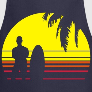BEACH SURFING BOY PALME Camisetas - Delantal de cocina