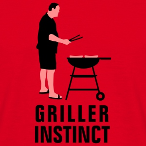 griller_instinct_2c Hoodies & Sweatshirts - Men's T-Shirt