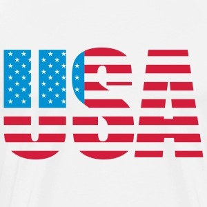 usa_a_2c Hoodies & Sweatshirts - Men's Premium T-Shirt