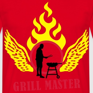 grillmaster_022011_b_3c Sweaters - Mannen T-shirt