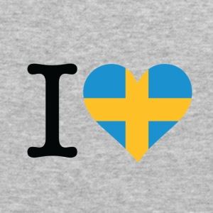 I Love Sweden (dd) Sweatshirts - Herre Slim Fit T-Shirt