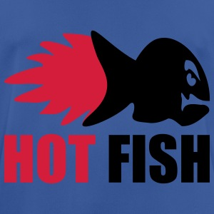 HOT FISH - Männer T-Shirt atmungsaktiv