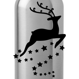 Reindeer T-Shirts - Water Bottle