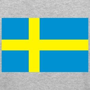 Flag Sweden (2c) Sweatshirts - Herre Slim Fit T-Shirt