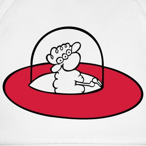 Alien Sheep Pullover - Cappello con visiera