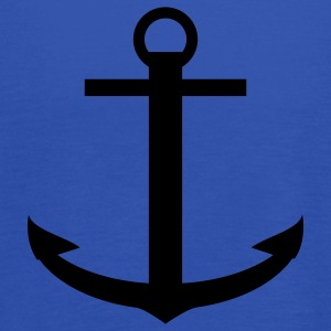 Anker boot schip - Anchor Boat Ship T-shirts - Vrouwen tank top van Bella