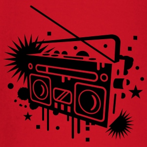 Radio cassette recorder graffiti Bags  - Baby Long Sleeve T-Shirt