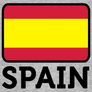 Flag Spain 2 (3c) Gensere - Slim Fit T-skjorte for menn