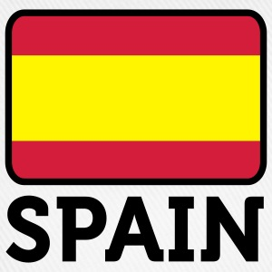 Flag Spain 2 (3c) T-Shirts - Baseball Cap