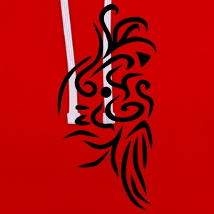 3_tribal_1c T-shirts - Sweat-shirt contraste