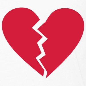 broken heart T-Shirts - Men's Premium Longsleeve Shirt