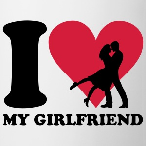 I love my Girlfriend T-Shirts - Mug