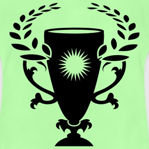 A Winner Cup with laurel wreath Kids' Tops - Baby T-Shirt
