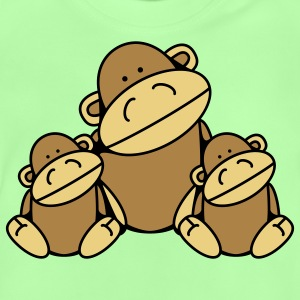 Three Monkeys Barntröjor - Baby-T-shirt