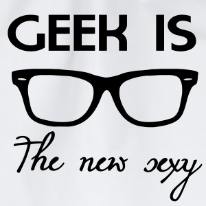 Geek is the new sexy Kopper - Gymbag