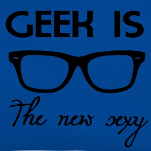 Geek is the new sexy Camisetas - Bandolera retro