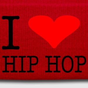 I LOVE HIP HOP - Wintermütze