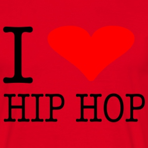 I LOVE HIP HOP - Männer T-Shirt