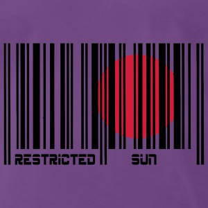 Restricted Sun, Dim. restreint, code à barres. Sweat-shirts - T-shirt Premium Homme