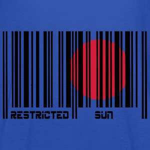 Restricted Sun, Dom Restricted, codice a barre. T-shirt bambini - Top da donna della marca Bella