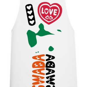 I LOVE GUADELOUPE GWADA - Cooking Apron