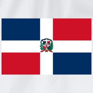 Flag Dominican Republic (dd) T-shirts - Gymtas