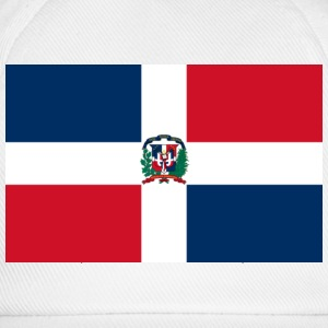 Flag Dominican Republic (dd) T-shirt - Cappello con visiera