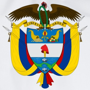 Crest Colombia (dd) T-Shirts - Turnbeutel