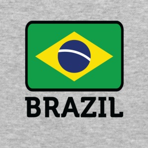 Flag Brazil 2 (dd) Sweatshirts - Herre Slim Fit T-Shirt