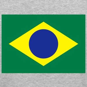 Flag Brazil (3c) Sweatshirts - Herre Slim Fit T-Shirt