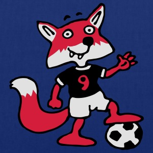 soccer_fox_c_3c Tabliers - Tote Bag