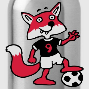 soccer_fox_c_3c  Aprons - Water Bottle