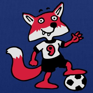 soccer_fox_b_3c Tabliers - Tote Bag