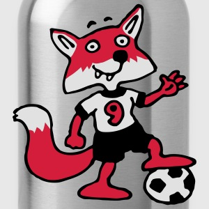 soccer_fox_b_3c  Aprons - Water Bottle