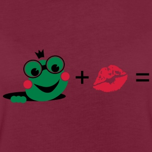 Frog with a kiss  Aprons - Women's Oversize T-Shirt