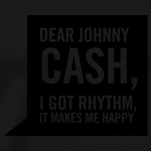 Cash black hoodie - Men's Premium T-Shirt