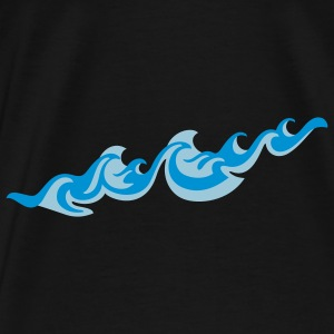 Waves - Men's Premium T-Shirt