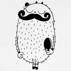 Moustache Monster von cute monstR T-Shirts - Baseballkappe
