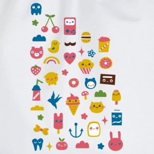 kawaii things von www.cute-monstR.de T-Shirts - Turnbeutel