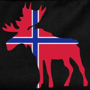 Moose, Elche, Norge, Noreg, Norway, Norwegen, Flags, Flaggen, Länder, countries, eushirt.com T-Shirts - Kinder Rucksack