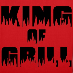 King of Grill - Grill - BBQ T-shirts - Tygväska